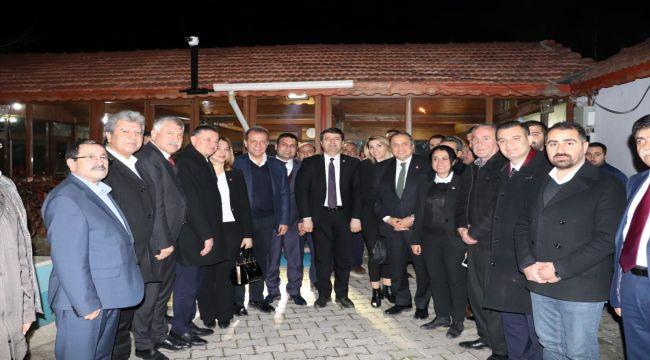 CHP'li Torun ve 3 Büyükşehir Belediye Başkanı Yıldırım'ı Ziyaret Etti