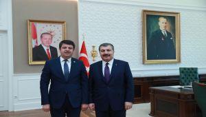 CHP'li Tutdere, Bakan Koca'ya Adıyaman'ın Sağlık Sorunlarıyla Gitti