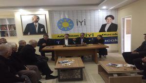 CHP'li Tutdere'den İYİ Parti'ye Ziyaret