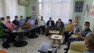CHP yönetiminden Tabipler Odasına anlamlı ziyaret