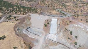 Çifthisar Barajında Çalışmalar Devam Ediyor