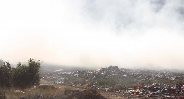 Çöp Yangını, 3 Hektarlık Alanı Kül Etti