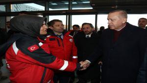 Cumhurbaşkanı Erdoğan, Elazığ'da İncelemelerde Bulundu - Videolu Haber