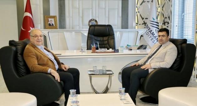 Cumhuriyet Başsavcısı Çevik'ten, Başkan Kutlu'ya Ziyaret