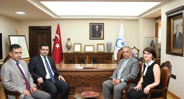 Cumhuriyet Başsavcısı Çevik'ten Rektör Turgut'a Hayırlı Olsun Ziyareti