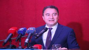 Deva Partisi Genel Başkanı Babacan Adıyaman'da kongreye katıldı