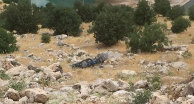 Devrilen Çapa Makinesinin Altında Kalan Sürücü Öldü