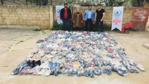 DGSKON'dan bin 500 aileye giyim yardımı