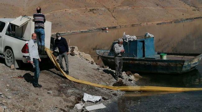 DSİ, Çat Baraj gölüne 115 bin sazan yavrusu bıraktı