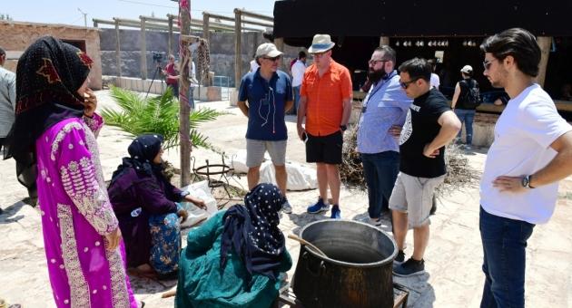 Dünyaca Ünlü Şefler Ve Gastronomi Yazarları Şanlıurfa'da
