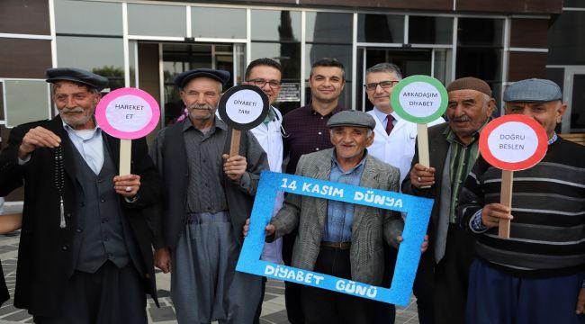 Eğitim ve Araştırma Hastanesinde Diyabet Standı Açıldı
