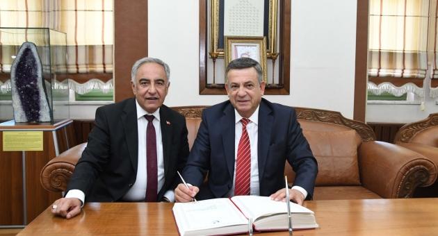 Erdemoğlu Holding'ten Adıyaman Üniversitesine Ziyaret
