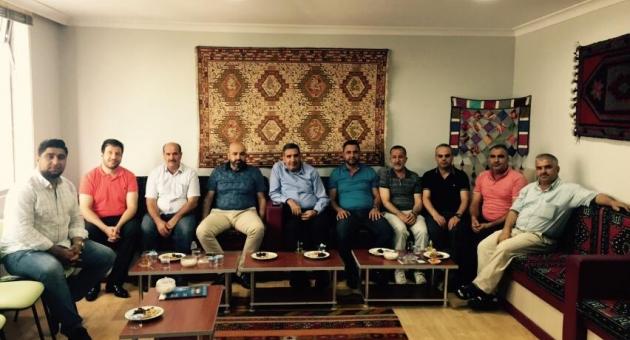 Erdoğan'dan, Adıyamanlılar Vakfı'na Ziyaret