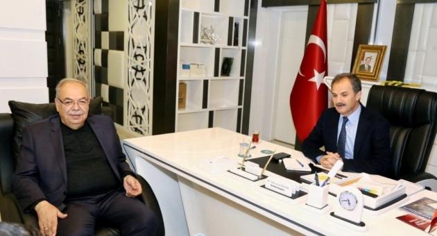 Eski Başkan Kutlu'dan, Başkan Kılınç'a Ziyaret
