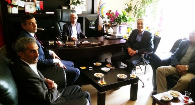 Eski Belediye Başkanı Özdemir'den Başkan Bulut'a Ziyaret