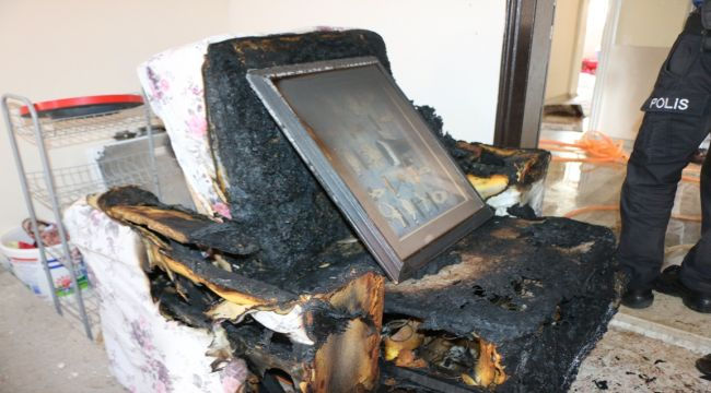 Ev Yangını Korkuya Ve Paniğe Neden Oldu - Videolu Haber