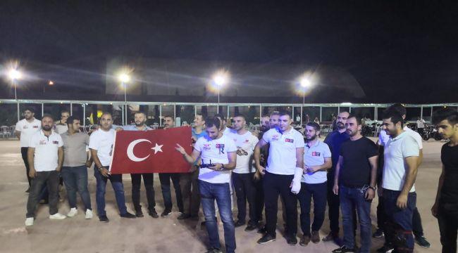 FSM Motor Grubu Barış Pınar'ı Hareketini Gösteriyle Destekledi