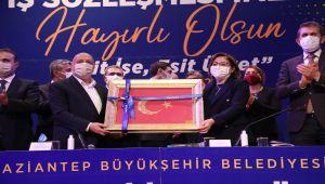Gaziantep Büyükşehir Belediyesi'nde en düşük asgari ücret 3 bin 557 lira oldu - Videolu Haber