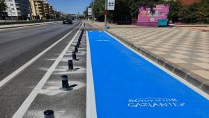 Gaziantep, kentteki bisiklet yollarını arttırıyor