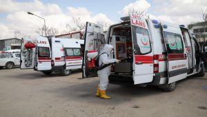 Gaziantep'te 112 Acil Ambulanslarının Hijyeni Büyükşehire Emanet