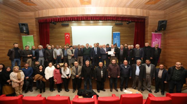 Gaziantep'te Çiftçi Eğitimleri Devam Ediyor