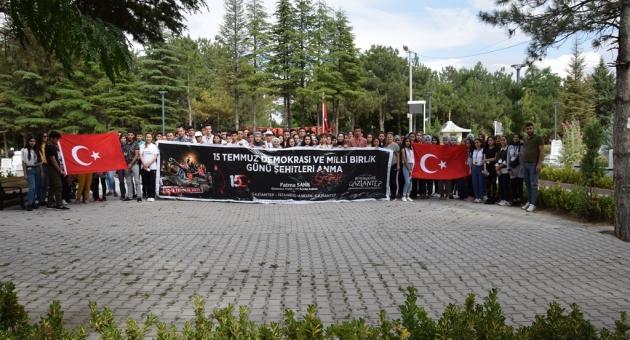"""Gaziantepli Gençler """"15 Temmuz Ruhunu"""" Yerinde Yaşadılar"""