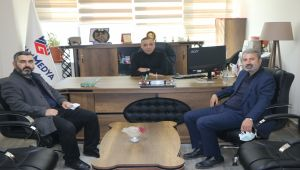Gelecek Partisi Adıyaman İl Başkanı Dinmez'den Başkan İnan'a ziyaret - Videolu Haber