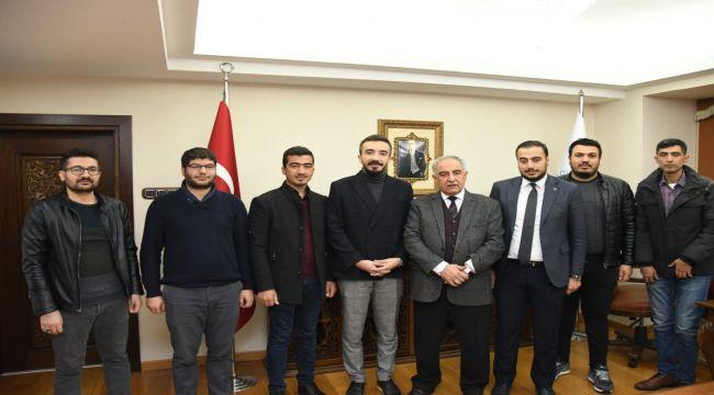 Genç MÜSİAD'tan Rektör Turgut'a Ziyaret