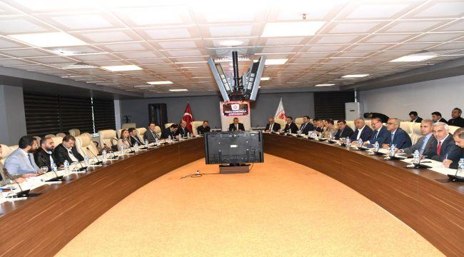 """""""Gençlik Ve Spor Platformu"""" Toplantısı Vali Aykut Pekmez Başkanlığında Yapıldı"""