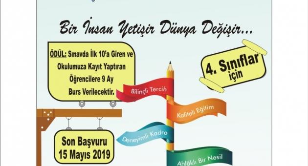 GİHOS Sınavın'da Başarılı Olan Öğrencilere 9 Ay Burs