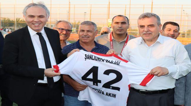 Göbeklitepe Başkanlık Futbol Turnuvası başladı - Videolu Haber