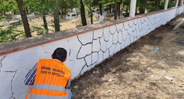 Gölbaşı Belediyesi Çalışmalarını Sürdürüyor