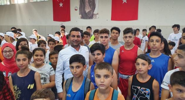 Gölbaşı Belediyesi Yaz Spor Okulları Açıldı