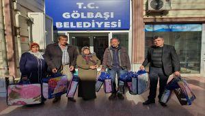 Gölbaşı Belediyesinden Elazığ'a Yardım Kampanyası