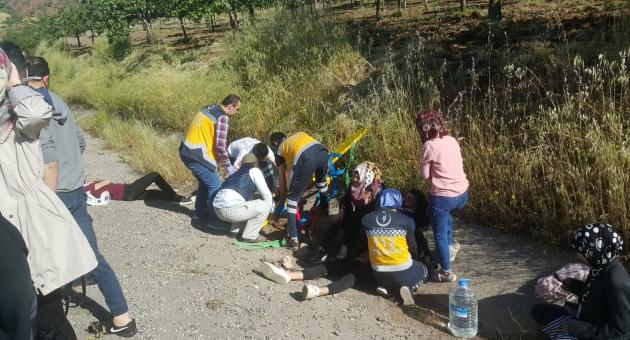 Gölbaşı'da Öğrenci Minibüsü Devrildi: 11 Yaralı