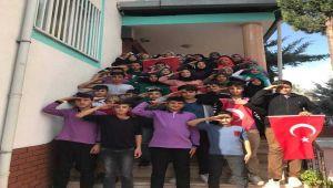 Gölbaşı İHO Öğrencilerinden Mehmetçiğe Destek