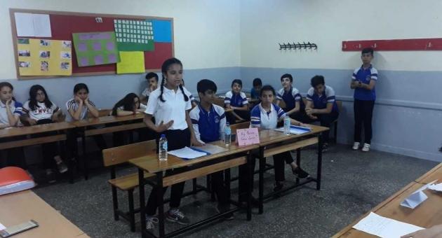 Gölbaşı'nda 8.Sınıflar Arası Münazara Yarışması