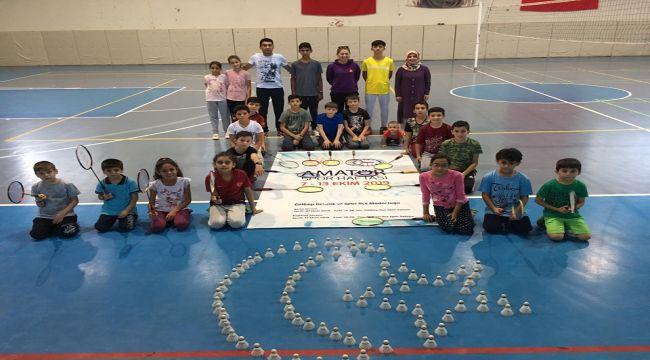 Gölbaşı'nda Badminton Müsabakaları Yapıldı