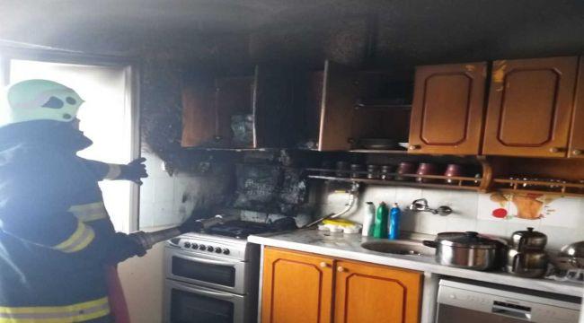 Gölbaşı'nda Ev Yangını Korkuttu