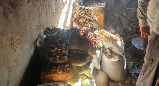 Gölbaşı'nda ev yangını