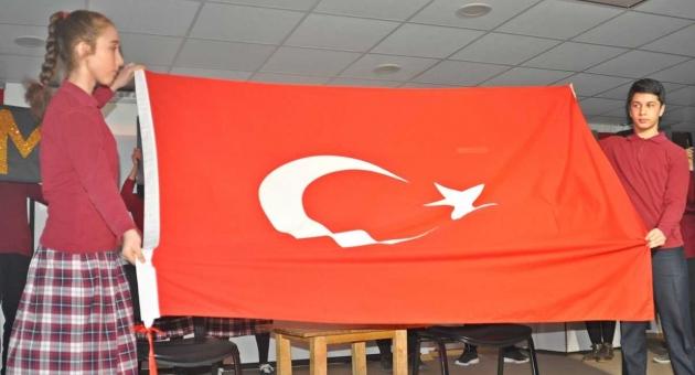 Gölbaşı'nda İstiklal Marşı'nın Kabulü Kutlandı