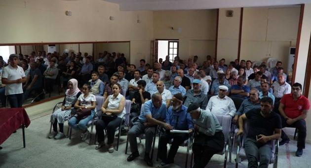 Gölbaşı'nda Kırsal Kalkınma Yatırımları Bilgilendirme Toplantısı