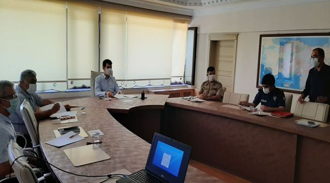 Gölbaşı'nda LGS güvenlik toplantısı yapıldı