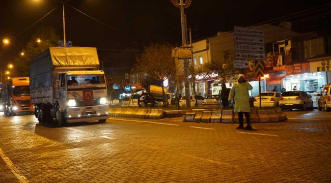 Gölbaşı'nda Nakliyecilerden 'Dijital Takograf' Uygulamasına Protesto Konvoyu - Videolu Haber