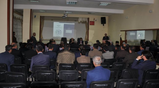 Gölbaşı'nda Temel Eğitim Okul Müdürleri Toplantısı