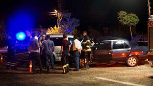 Gölbaşı'nda Trafik Kazası:1 Ölü, 2 Yaralı