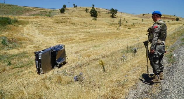 Gölbaşı'nda Trafik Kazası: 1 Yaralı