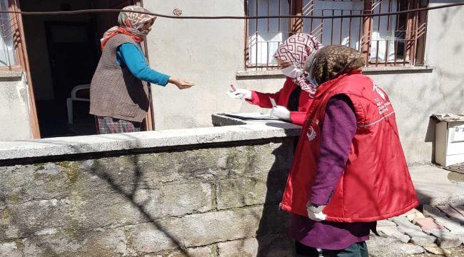 Gölbaşı'nda Yaşlı Maaşları Evlerinde Veriliyor