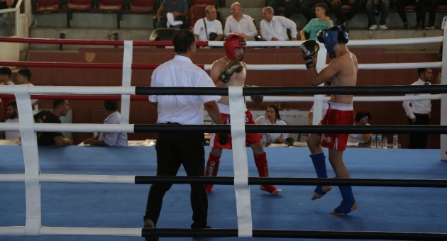 Haliliye Belediyespor Kick Boks Takımı, 15 Temmuz Turnuvasında Şampiyon Oldu