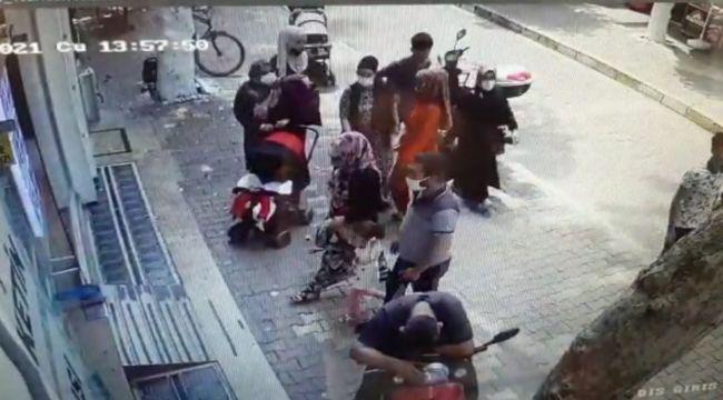Hamile kadının çantasındaki cüzdanı çalma anı güvenlik kamerasında - Videolu Haber